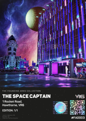 The Space Captain 1 Rocket Rd, Hawthorne