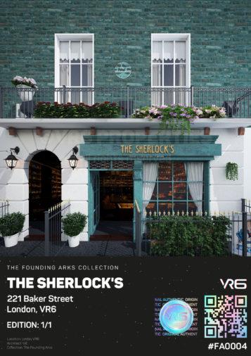 The Sherlock's 221 Baker Street, London, VR6